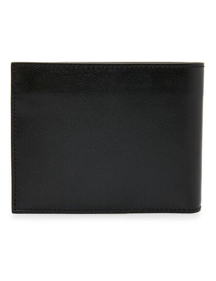 Quote Bifold Wallet Black White