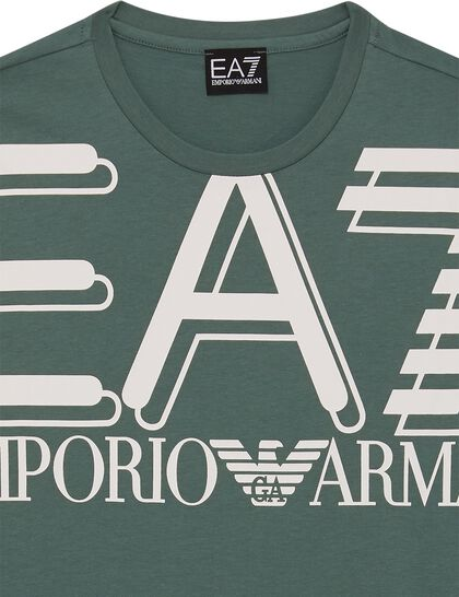 Big Logo Print Cotton T-Shirt