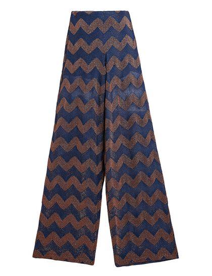 Jersey Classic Lurex Ziggzag Pant