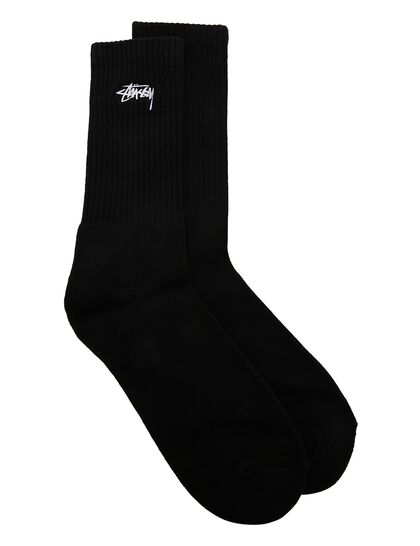 Small Stock Crew Socks