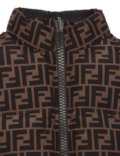 Logo Monogram Reversible Jacket