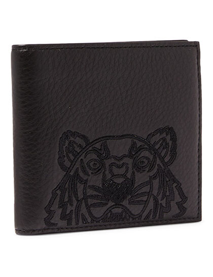 Embroidered Tiger Wallet