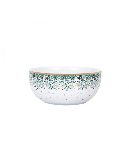 Mirrors Salad Bowl (M) - Emerald