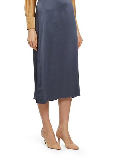Draped Slip Skirt