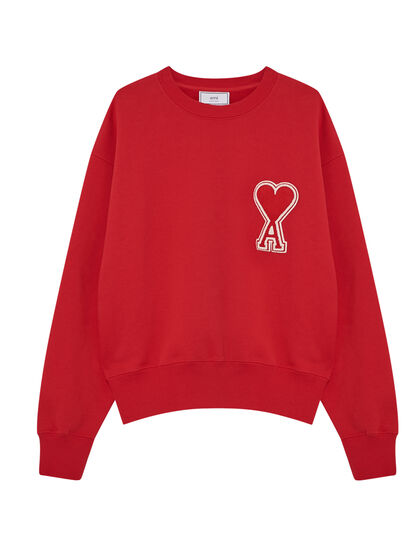 Sweatshirt Avec Patch Oversize Ami De Coeur