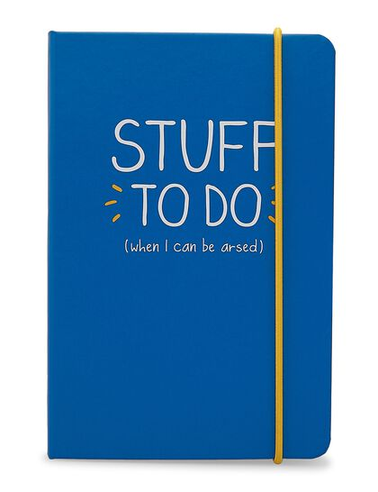 A6 Notebook Stuff To Do