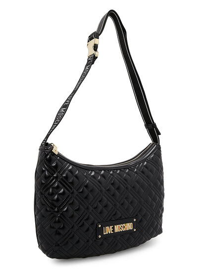 Quilted Hobo Bag Sport Strap