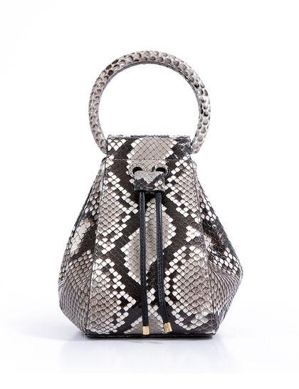 Python Igor Top-Handle Bag