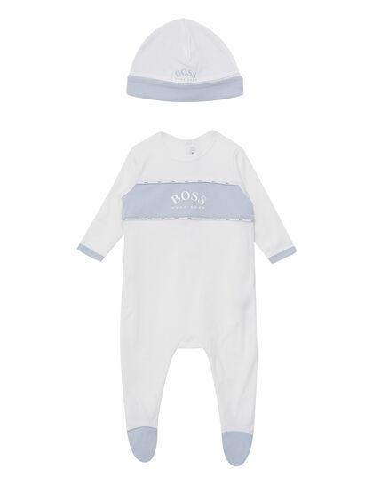 Pyjamas + Pull On Hat Set