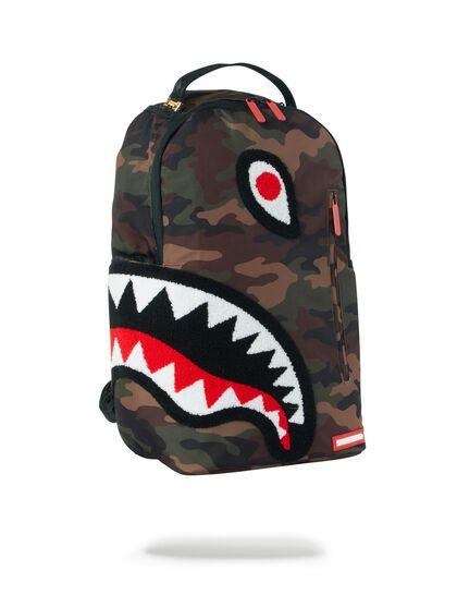 Torpedo Shark Camo Backpack