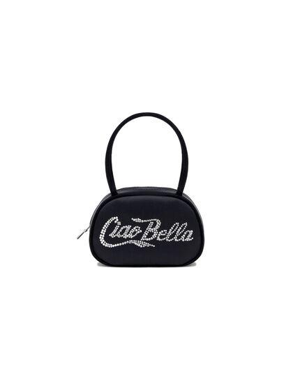 Bella Crystal Handle Bag