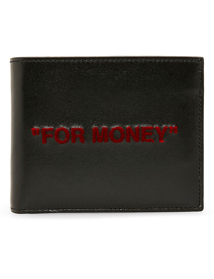 Wallet For Money Quote Red