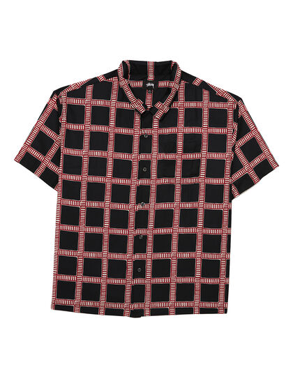 Hand Drawn Plaid Shirt