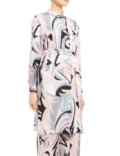 Dinamica Print Chemisier Dress