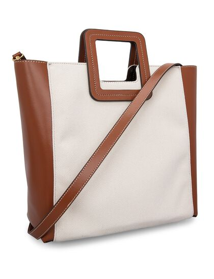 Leather Shirley Tote Bag