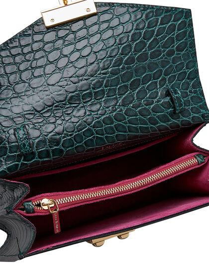 Mini Top Handle Bag With Shoulder Strap