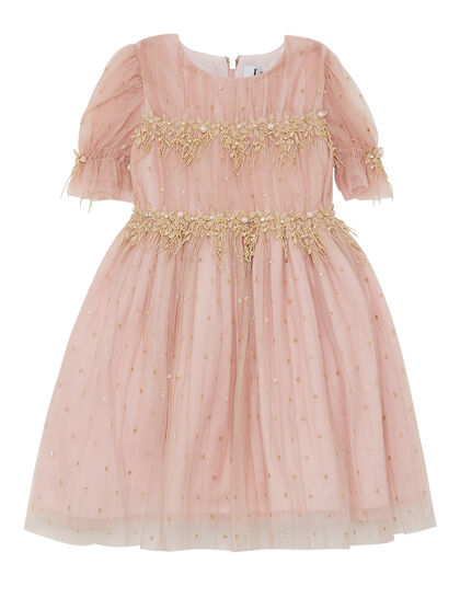 Dress Organza Tulle Glitter Dots