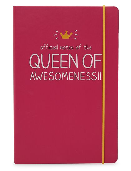 A5 Notebook Queen Of Awesomeness