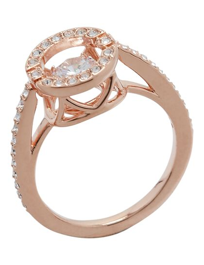 Sjc Sparkling Dc Ring Rnd Czwh Ros 55Mm
