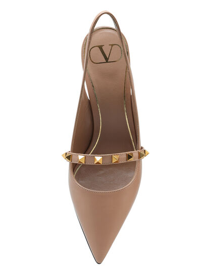 Rockstud Studded Heel Pumps