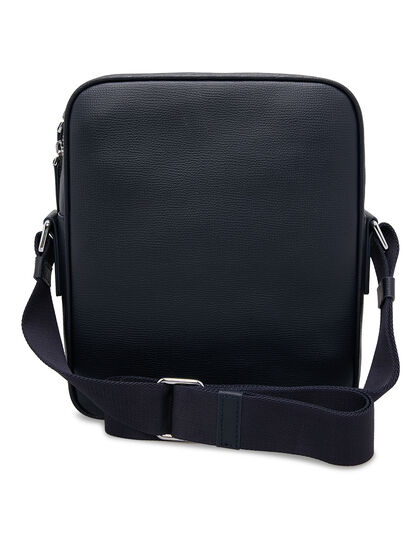 Award Messenger Bag - Italian Leather Navy Blue