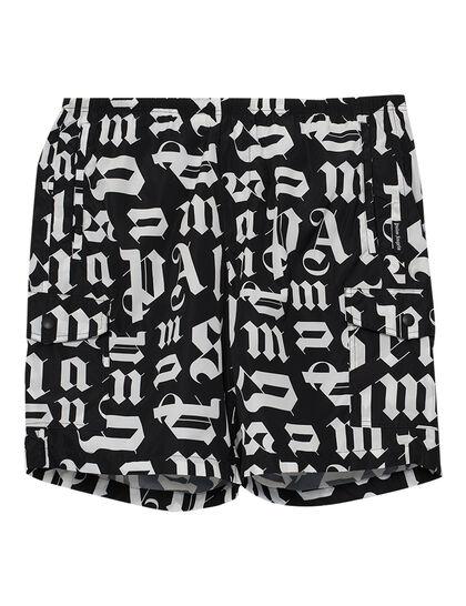 Broken Monogram Swim Shorts