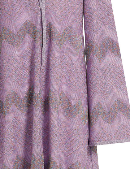 Classic Lurex Zigzag Tunic