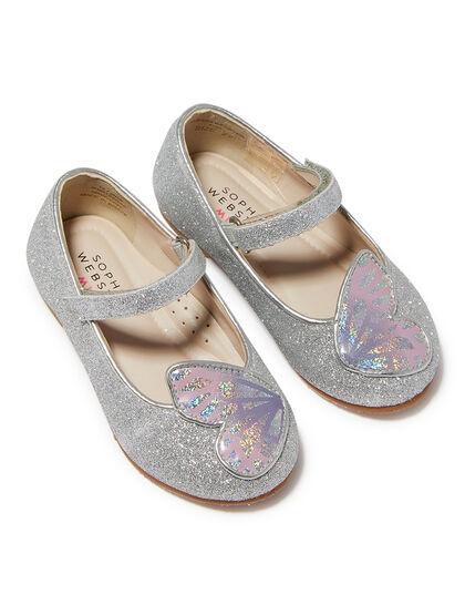 Butterfly Glitter Ballerinas