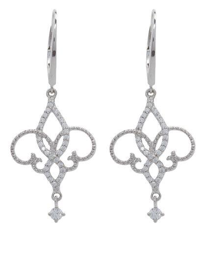French Wire Earrings Fleur De