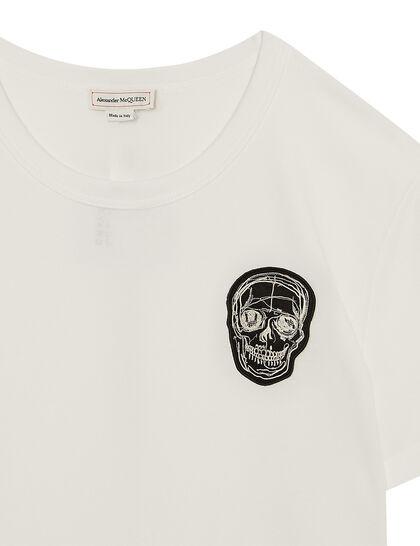 Skull Prt T-Shirt