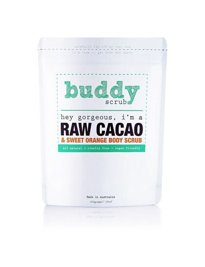 Raw Cacao Natural Body Scrub 200gm