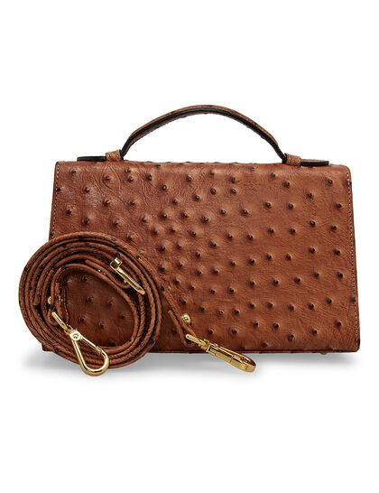 Amelie Pouch - Ostrich