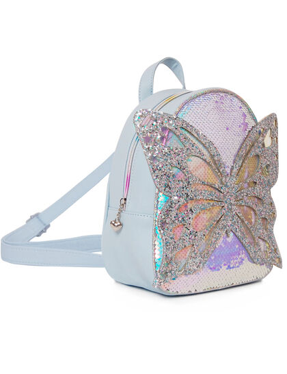 Miss Butterfly Sequins Mini Backpack