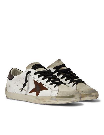 Superstar Sneakers with Canvas Heel