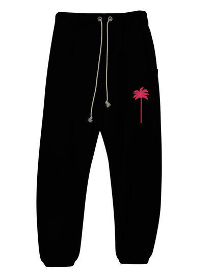 Pxp Sweatpants Black Fuchsia