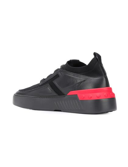 No Code X' Low-Top Sneakers