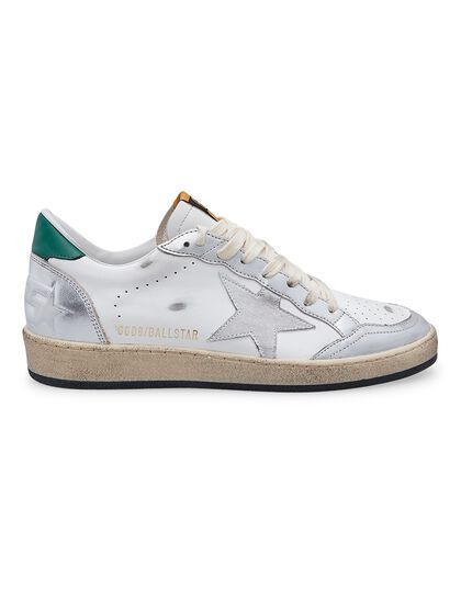 Ballstar Laminated Toe And Spur Leather Upper Suede Star