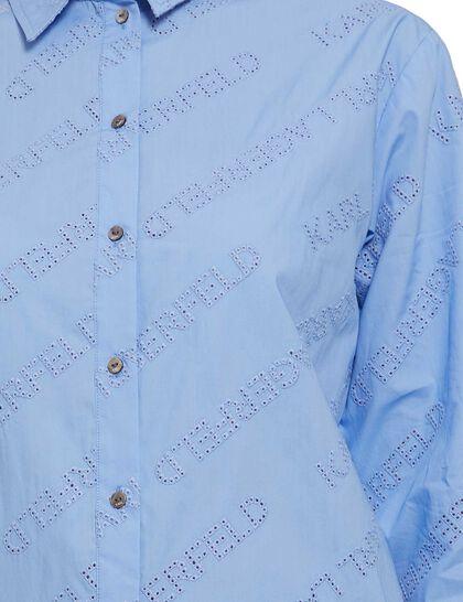 Logo Embroidered Tunic Shirt