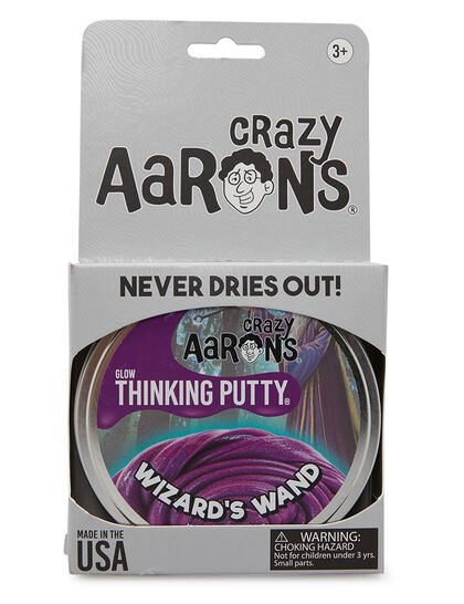 Thinking Putty - Wizards Wand - Full Size 4 Thinking Putty Tin, Never Dries Out, 3.2oz