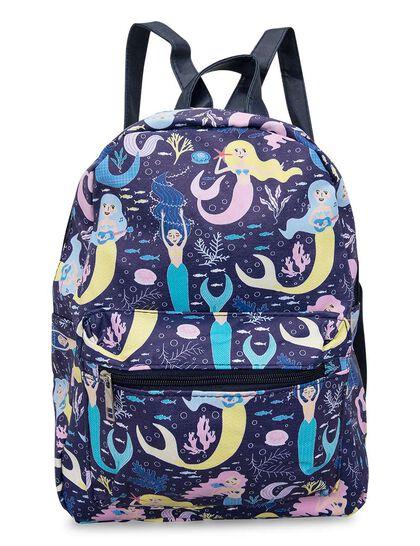 Mermaid Bag; Canvas Finish