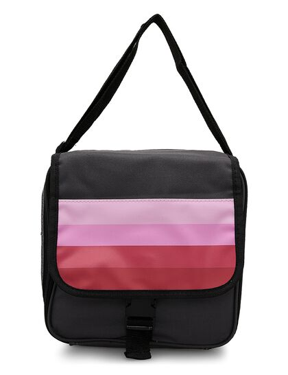 Expandable Lunch Bag Smart Bag Pink, Large Enough To Pack A Full Days Worth Of Food Bpa Free