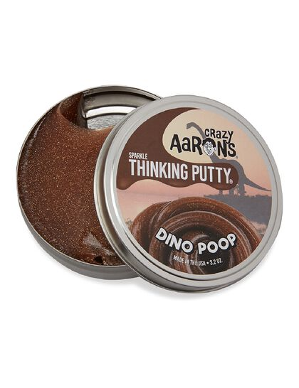 Thinking Putty - Dino Poop Cosmic 4 Tin, Never Dries Out, 3.2oz