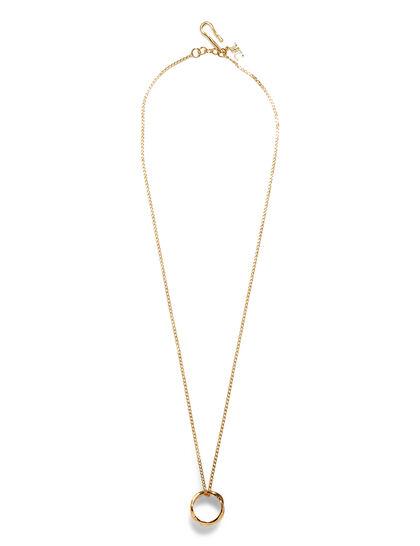 Gold Ring-Shape Pendant