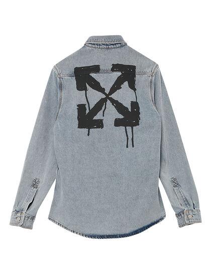 Stencil Denim Shirt