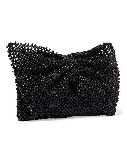 Arco Bow Beaded Bag