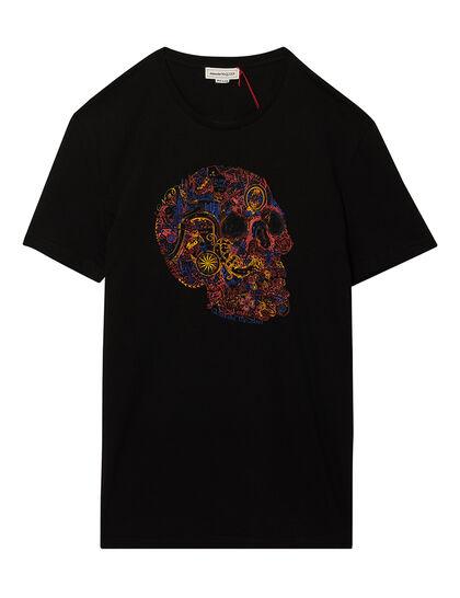 London Skull Print T-Shirt