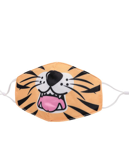 Tiger Face Printed Face Mask