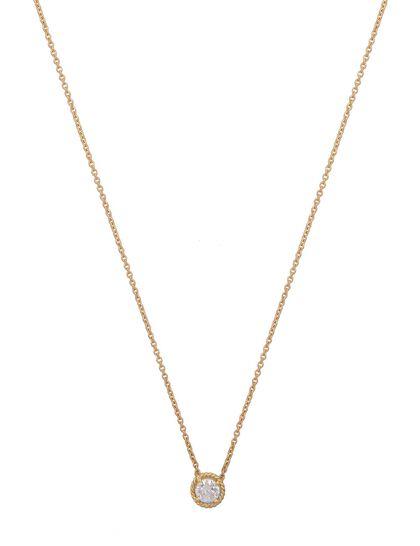 Gfa Salasil Gafla Necklace Yellow Gold Sm