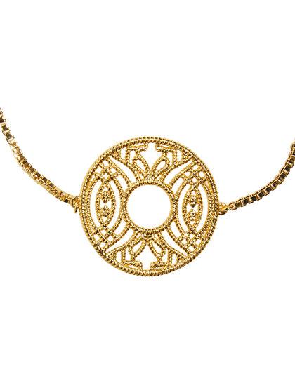 Gypsy Soul Coin Bolo Stackable Bracelet