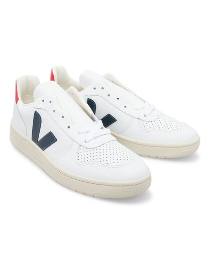V-10 Leather Extra-White Nautico Pekin